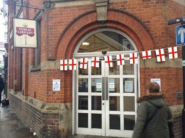 Uppr Norwood Library St George's day