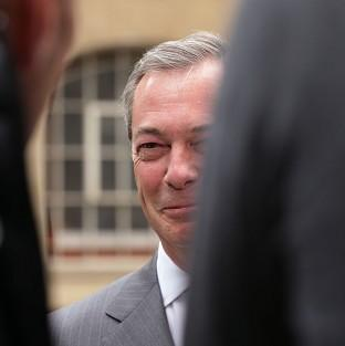 UKIP leader Nigel Farage is making a special appearance in Croydon to support his party's candidates in the local and European elections