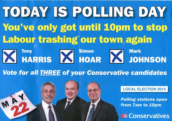 Another ill-judged Tory leaflet
