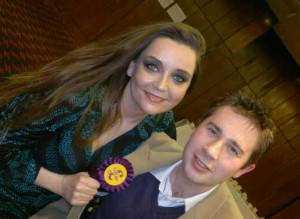 Elizabeth Jones, and UKIP friend: strongest challenger in Croydon South?