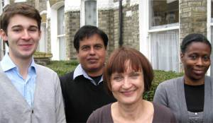 Gipsy Hill's Labour councillors, pictured with local MP Tessa Jowell: Matthew Bennett,