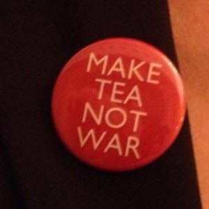 A favourite slogan of Tony Benn