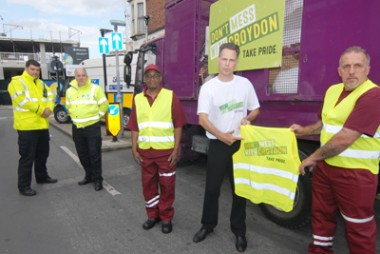 Labour deputy leader Stuart Collins launched the Don't Mess With Croydon campaign with a couple of days of taking charge of the council