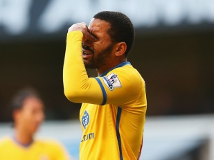 Jason Puncheon, after reading about the new Palace manager appointment on his Twitter feed today. Apparently