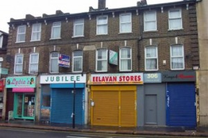 London Road: modest investment in paving slabs and a bit of paint will do little to address the problems following the riots