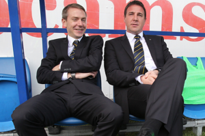 Moody and Mackay: not re-united at Palace