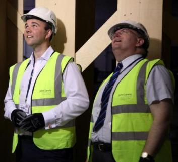"""How we going to dig our way out of this one, Gav?"" ""Leave it with me, Mike. No one will ever notice..."""