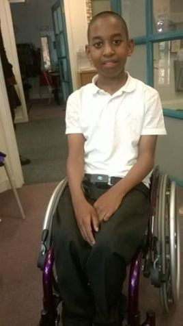 Malachi Reid: dozens of teachers, staff and friends are running to give him the chance to walk