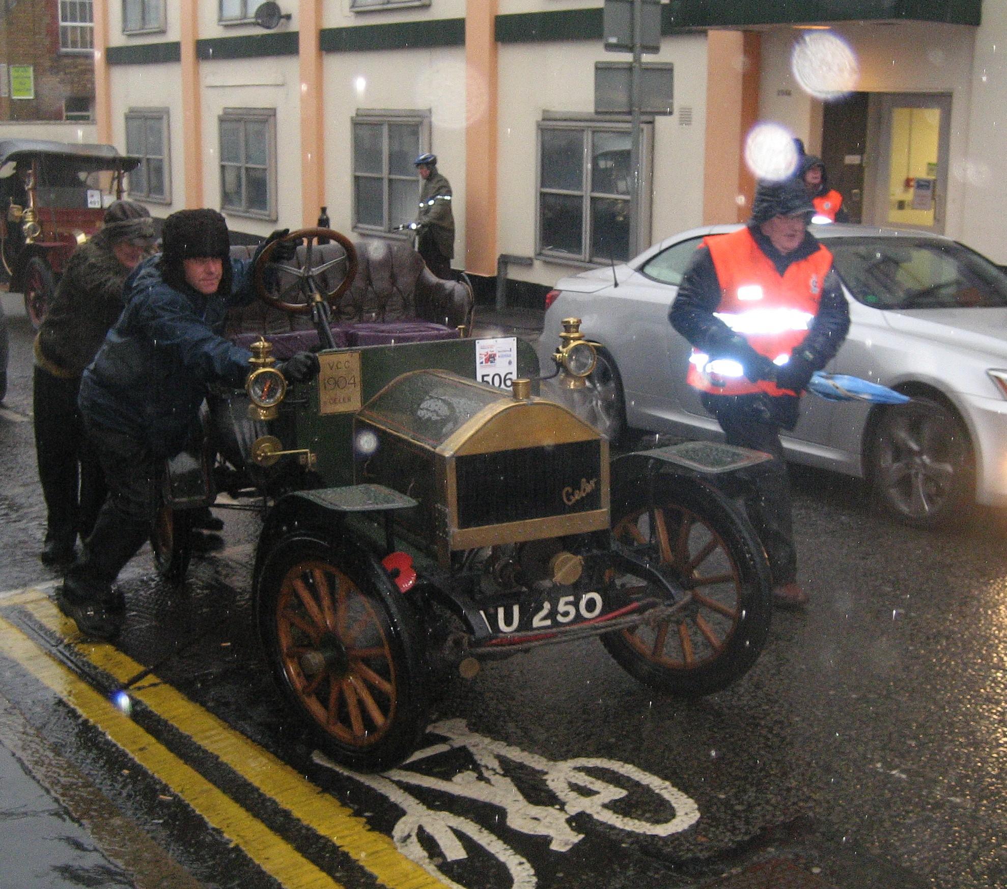 Veteran cars set for a diversion as they rally through Croydon ...