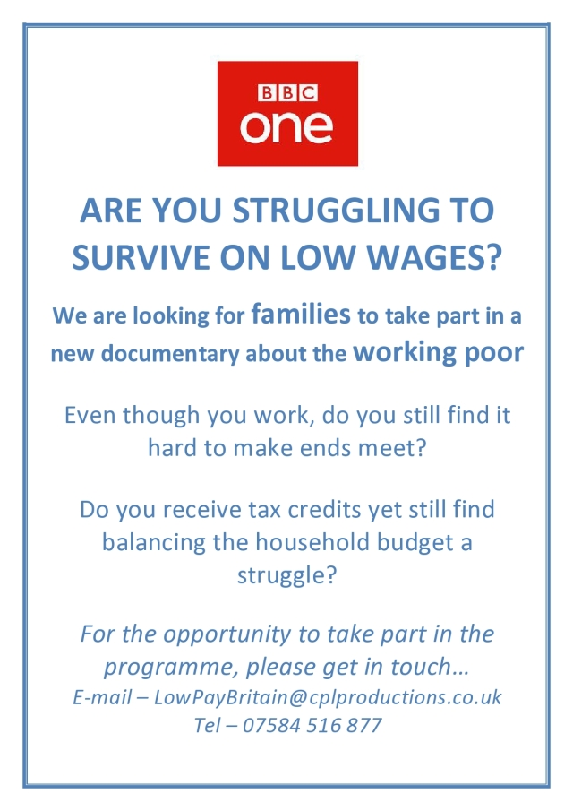 Low Pay Britain Flyer