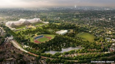 A Boris boondongle: Bromley's latest letter underlines how Chinese developers wanted to take over much more of Crystal Palace Park than the top site