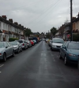 Belmont Road, close to the site of the proposed Oasis Arena Academy: the council seriously believes this residential street could cope with daily traffic to the school