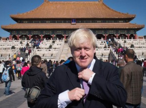 Boris Johnson China