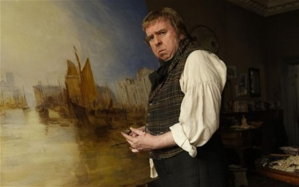 Timothy Spall plays Mr Turner in Mike Leigh's acclaimed film, showing at the David Lean Cinema in January