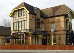 Under threat? The fate of the landmark Waddon Tavern could be in jeopardy if a flyover scheme goes ahead