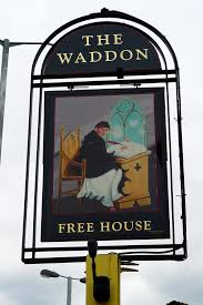 The Waddon Tavern might be one of a number of local businesses whose future is blighted by TfL's road schemes for the Purley Way
