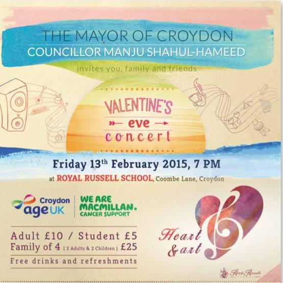 Mayor's Valentine event