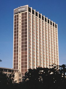 Nestle Tower: 23 storeys, simply to make it twice the height of what was then Croydon's tallest building