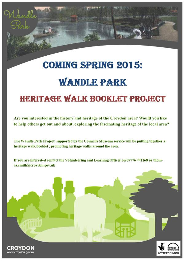 Wandle Park poster