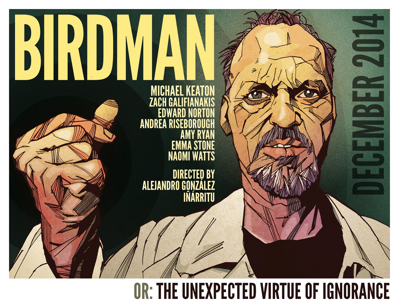 Edvard Norton Birdman-movie-poster-keaton