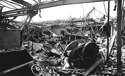 More than 1,000 people in Croydon were killed in the Blitz