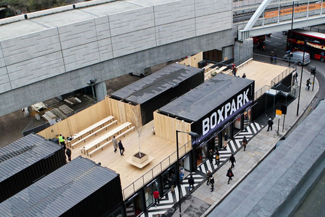 Boxpark Pop Up Retail Outlet Set To Come To East Croydon
