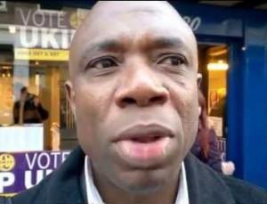 Emmanuel Ehirim: the new chairman of UKIP Croydon North, replacing Winston McKenzie