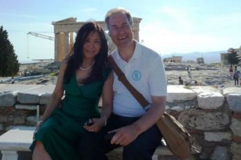 Xuelin and Michael Bates. They've helped run Chinese interests in London developments at least since their 2012 wedding