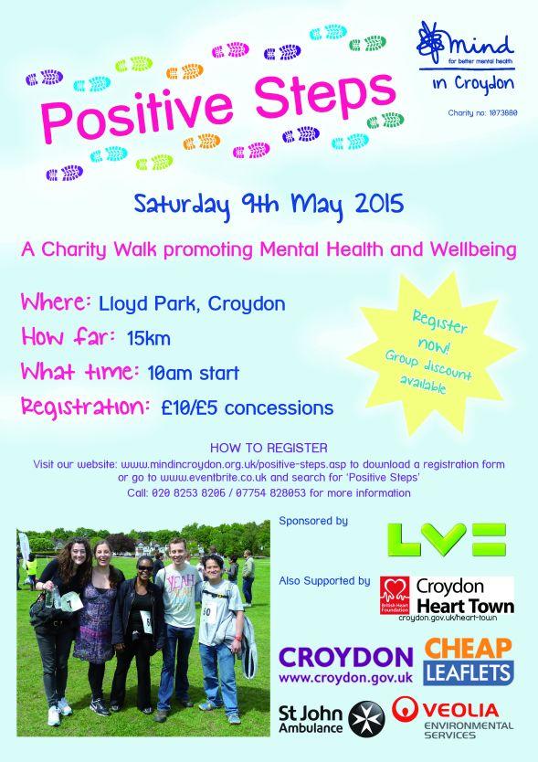 Positive Steps 2015 Poster