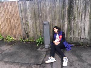 It's been an exhausting campaign for many, especially the Hon Emily Benn, Labour's Croydon South candidate. The council's fly-tipping team has been notified