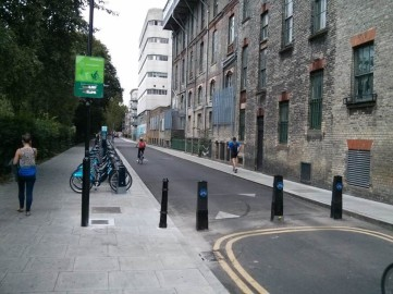 This street in Hackney was trialled as traffic-free for a period, and has never reverted to having motor traffic on it