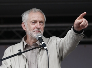 Jeremy Corbyn: under attack from within his own parliamentary group