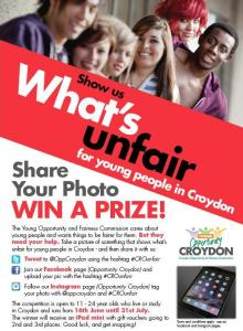 Don't all rush at once: the Fairness Commission's appeal to Croydon youth has not yet caused much of a stir