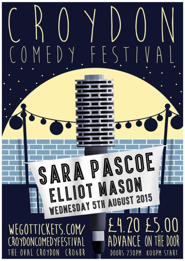 Croydon Comedy Festival Aug 5