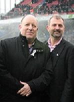 Croydon council leader Tony Newman, left, and Mark Watson have readily worn symbolic white ribbons