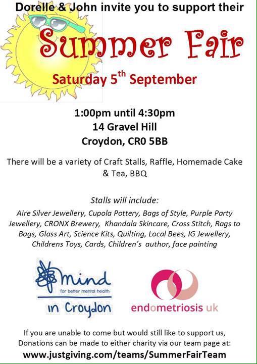 Gravel Hill Summer Fair, Sep 5