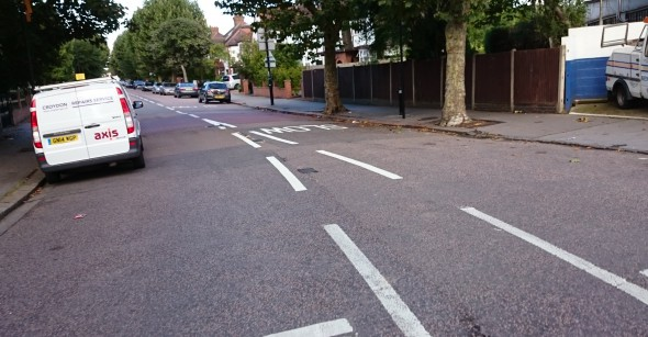 Open road: there have already been reports that motorists have been speeding along the re-opened Norbury Avenue