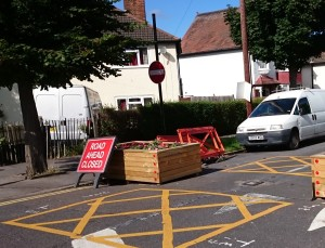Such was the rush in which the council contractors did the work to re-open Norbury Avenue, some motorists may be confused by the signage left behind.