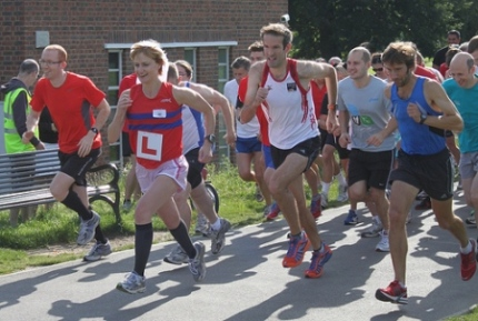 Brockwell Park road race