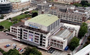 The Fairfield Halls, with College Green top left of picture, is about to be changed forever