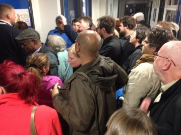 Dozens of the public were denied access to the Lambeth meeting last night and locked out of the school hall