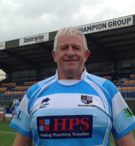 Warlingham veteran prop Tony Doe saved his club's blushes by turning out for the first XV on Saturday, aged 58