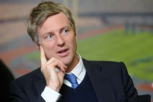 Zac Goldsmith: wasn't born with a silver spoon in his mouth, more an entire set of cutlery
