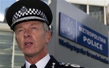 Sir Bernard Hogan-Howe: denied claims made by Croydon AM Steve O'Connell that he was being forced out by Sadiq Khan