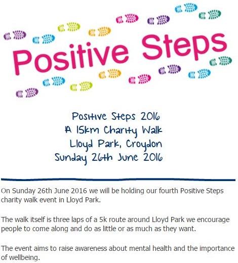 Positive Steps