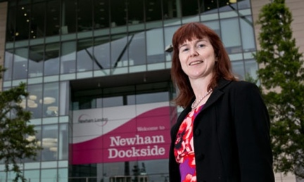 Council health chief Rachel Flowers: well-known to her former Newham colleagues alredy working in Fisher's Folly