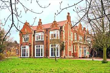 The Lodge: a former diocesan home, used as a children's home, it is valued at £1.7m. Brake's charity is getting it for £600,000