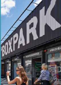 Boxpark is on its way to Croydon, thanks to a £3m council loan. And now a senior member of council staff is working for Boxpark
