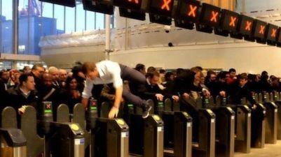 Eleven months after scenes such as this at London Bridge, regulators have insisted that Network Rail hires more staff