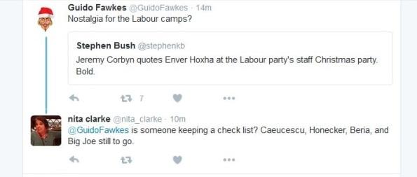 Nita Clarke tweet